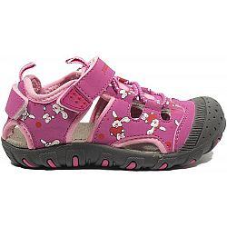 Junior League BERRY fialová 30 - Detské sandále