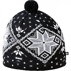 Kama A138-110 ČIAPKA MERINO čierna L - Pánska pletená čiapka