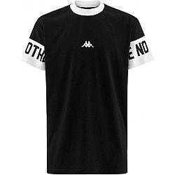 Kappa AUTHENTIC BALTOS čierna S - Pánske tričko
