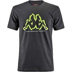 Kappa LOGO BIPERIC čierna M - Pánske tričko