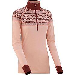 KARI TRAA LOKKE H/Z ružová S - Dámske termo tričko