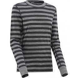 KARI TRAA ULLA sivá S - Dámske vlnené tričko s dlhým rukávom