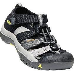 Keen NEWPORT H2 JR čierna 2 - Detská letná obuv