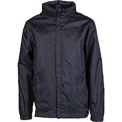 Kensis WINDY JR čierna 164-170 - Chlapčenská šuštiaková bunda