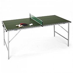 KLARFIT King Pong, ping-pongový stôl, sklápací, zelený