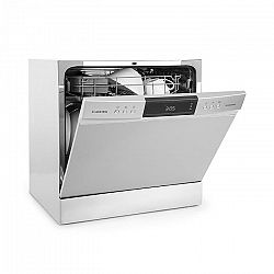 Klarstein Amazonia 8 Neo, stolná umývačka riadu, 8 programov, LED displej, strieborná