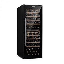 Klarstein Barossa 77 Duo, vinotéka, 2 zóny, 191 l, 77 fliaš, dotyková, LED, čierna