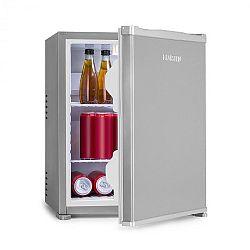 Klarstein Nagano S, mini chladnička, 38 l, 0 dB, 0 - 8 °C, nehlučná, 54,5 cm, strieborná