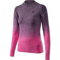 Klimatex ADELIN ružová XL - Dámske tričko s dlhým rukávom
