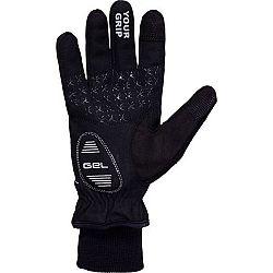 Klimatex ANYK čierna L - Unisexové  softshellové rukavice