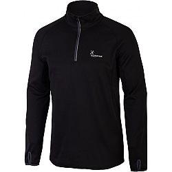 Klimatex CHARLIE čierna S - Pánsky outdoorový pulóver