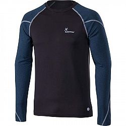 Klimatex CORNEL čierna S - Pánske tričko s dlhým rukávom