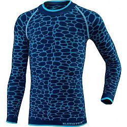 Klimatex DELI modrá 146-158 - Funkčné detské termo tričko
