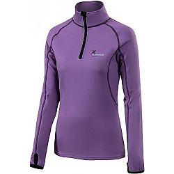 Klimatex DENISE fialová L - Dámsky outdoorový pulóver