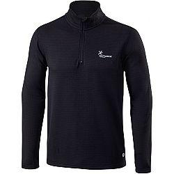 Klimatex GARCIA čierna XL - Pánsky outdoorový pulóver