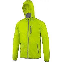 Klimatex JORAH svetlo zelená XL - Zbaliteľná cyklistická vetrovka