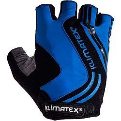 Klimatex RAMI tmavo sivá S - Pánske cyklistické rukavice