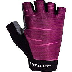 Klimatex VINCE vínová XL - Dámske cyklistické rukavice