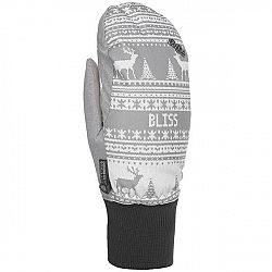 Level BLISS CORAL MITT červená 8 - Dámske lyžiarske rukavice