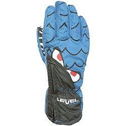 Level LUCKY žltá 3 - Detské lyžiarske rukavice