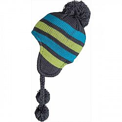 Lewro ADAM modrá 12-15 - Detská pletená čiapka