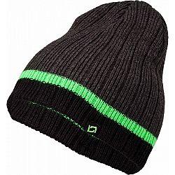 Lewro AERODACTYL sivá 10-15 - Chlapčenská pletená čiapka