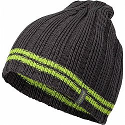 Lewro ARCANINE tmavo šedá 4-7 - Chlapčenská pletená čiapka