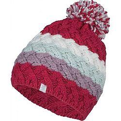 Lewro CLEFAIRY červená 12-15 - Dievčenská pletená čiapka