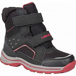 Lewro CRONUS čierna 33 - Detská zimná obuv