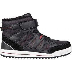 Lewro CUBIQ II čierna 43 - Detská zimná obuv