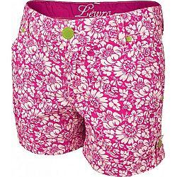 Lewro EDITH 140 - 170 ružová 152-158 - Dievčenské šortky