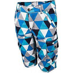 Lewro ERNEST 140 - 170 modrá 152-158 - Chlapčenské 3/4 nohavice