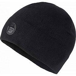 Lewro FATOSH čierna 12-15 - Detská flísová čiapka