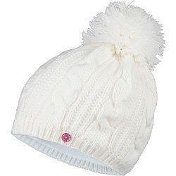 Lewro KRISTY biela 12-15 - Dievčenská čiapka