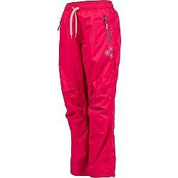 Lewro MILAN ružová 152-158 - Detské zateplené nohavice