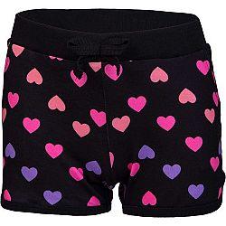 Lewro MISSY čierna 164-170 - Dievčenské šortky