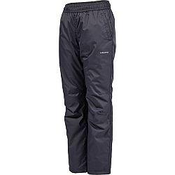 Lewro NAVEA tmavo sivá 116-122 - Detské zateplené nohavice