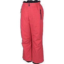 Lewro NUR sivá 140-146 - Detské lyžiarske nohavice