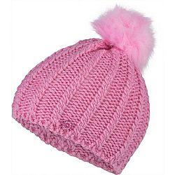 Lewro PAJKA ružová 12-15 - Dievčenská pletená čiapka