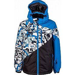 Lewro PHIL modrá 164-170 - Chlapčenská zimná bunda