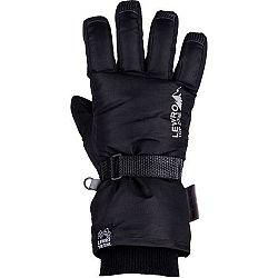 Lewro PRIMO čierna 8-11 - Detské lyžiarske rukavice