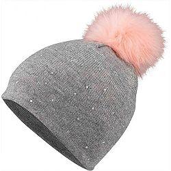 Lewro ROMIDA šedá 12-15 - Dievčenská pletená čiapka