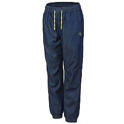 Lewro SIMIR2 116 - 134 tmavo modrá 116-122 - Detské nohavice