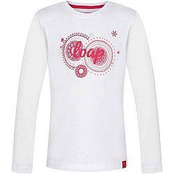 Loap ARISKA biela 134-140 - Dievčenské tričko