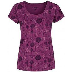 Loap BADSY fialová M - Dámske tričko