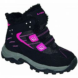 Loap BERNY ružová 34 - Detská zimná obuv