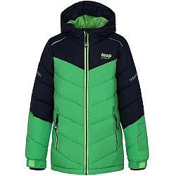Loap FUGAS zelená 128 - Detská lyžiarska bunda