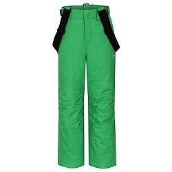 Loap FUGO zelená 140 - Detské lyžiarske nohavice