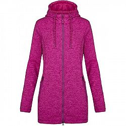 Loap GLADYS ružová XS - Dámsky predĺžený sveter