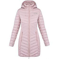 Loap JESMIN svetlo ružová M - Dámsky zimný kabát